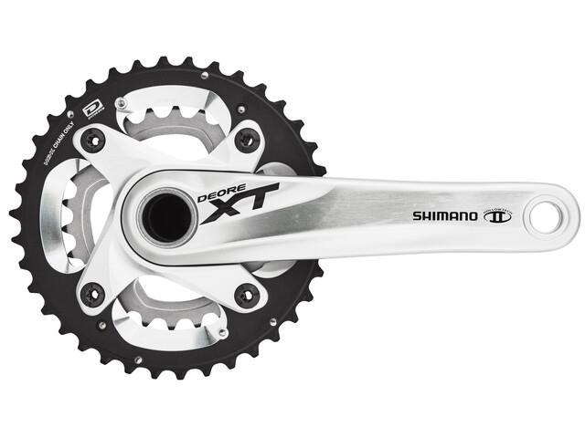 Shimano Deore XT FC-M785 175mm 38-26T zilver zonder beschermring
